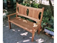 Bench in oak 3