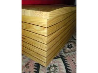 'The Wave', chest in pine and red cedar 4
