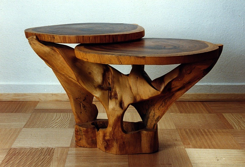 Carved Table In Tulip Wood 1 ...