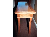 Table in cherry, cedar of lebanon and ebony 3